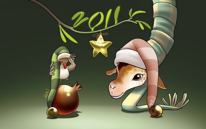 it's the year of the giraffe