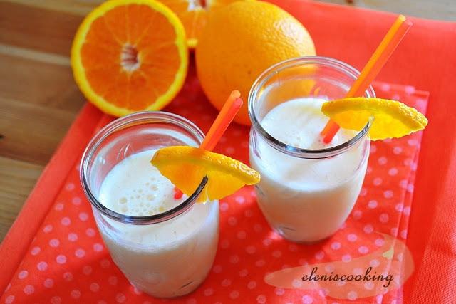 > Παγωμένο Ρόφημα Πορτοκάλι