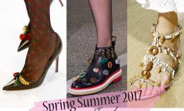 """Άνοιξη-Καλοκαίρι 2017 – Όλες οι """"hot"""" τάσεις στα παπούτσια"""